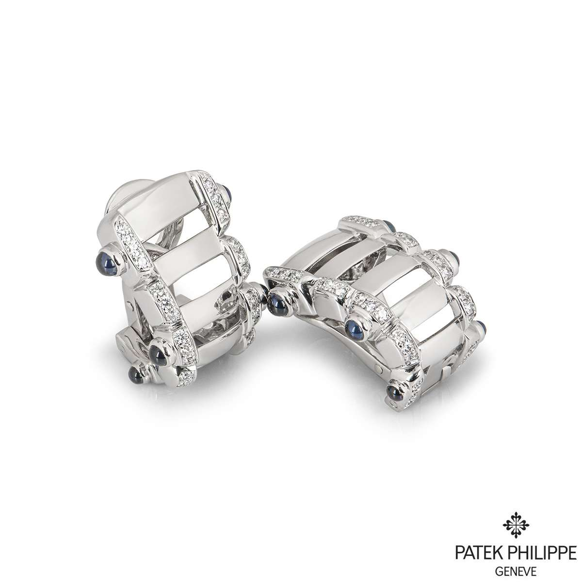 Patek Philippe White Gold Twenty-4 Earrings